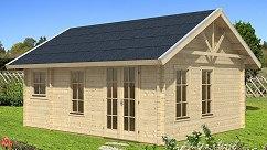 blockbohlenhaus blockbohlen gartenhaus. Black Bedroom Furniture Sets. Home Design Ideas