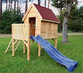 spielhaus holz kinder gartenhaus. Black Bedroom Furniture Sets. Home Design Ideas